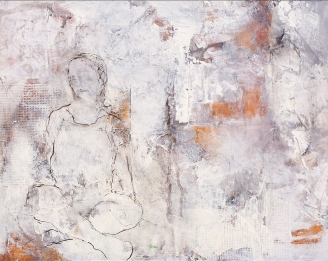 Equanimity / Mixed media on canvas / 16 in. x 20 in. (NFS)