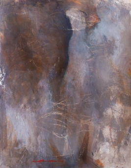 Profound Beginnings / Mixed media on wood / 28 in. x 22 in. / $875