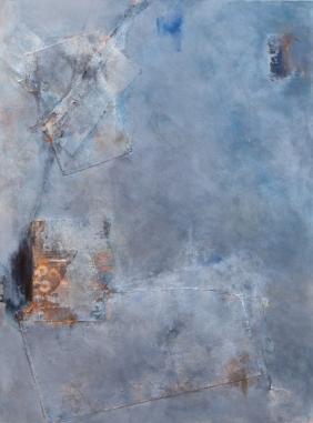 Todos Santos / Mixed media on canvas / 30 in. x 40 in./ $600
