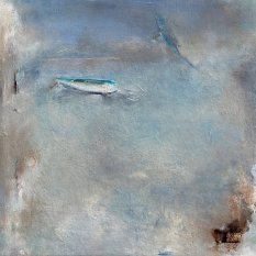 Finding the Open Space / Oil on wood / 24 in. x 24 in. / (FRAMED) / $850