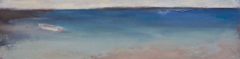 Grand Anse (2) / Oil on wood / 6 in. x 24 in. (SOLD)