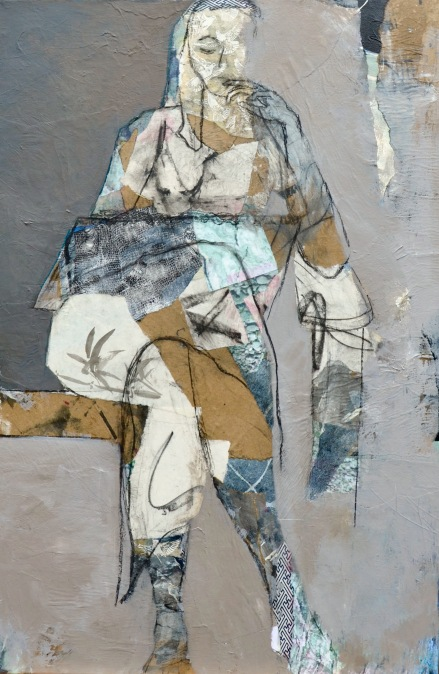 Drawing Life / Mixed media on canvas / 36 in. x 24 in. / NFS